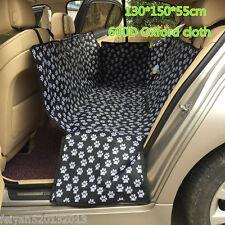 Hot Pet Dog Footprint Mat Car Seat Dog Cat Rear Back Seat Protect Cover Cushion