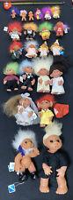✨Rare! Vintage ✨Huge Lot Of Troll Dolls  - Adopt A norfin Troll- TH DAM