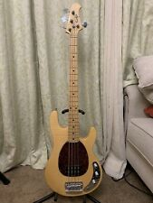 OLP Electric Bass Guitar Maple (Stingray) Color Beige