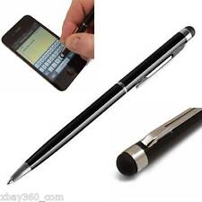10X Black 2-in-1 Touch Screen Stylus + Ballpoint Pen for iPad iPhone Tablet +INK