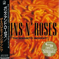 GUNS & ROSES THE SPAGHETTI INCIDENT 2016 JPN SHM MLPS CD -  OUT OF PRINT - NEW!