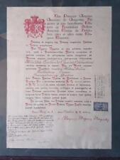 Dekret zur ernennung commander bestellung santa maria von bethlehem ezelindo