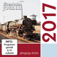 Eisenbahn Journal CD - Jahrgangsarchiv 2017
