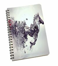 Abstract Horse Notebook Spiral A5 Paper Notepad Diary Journal Office School