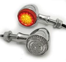 Frecce Led Luci Posizione Stop 3in1 Colorado Combo Cromate Moto Post. Omologate