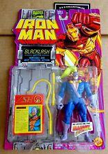 """Toy Biz Marvel Iron Man Action Figure """"backlash"""" New/unopened 1995"""