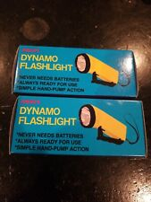 Forever Flashlight Squeeze Crank Dynamo set of 2