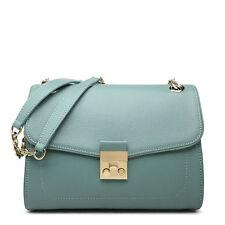 Women's  Leather Shoulder Bag Blue Cross Body Bag New