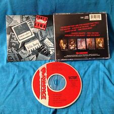 Scratch-Free VICTORY The Band THAT'S LIVE CD Tour 1988 88 Charlie Huhn German