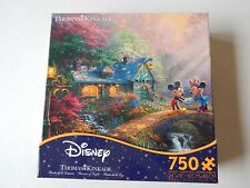 "Disney Thomas Kinkade 750 Piece Puzzle Mickey & Minnie Ceaco 24""X 18"""