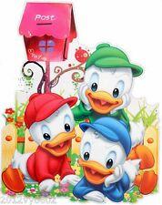 Nuevo Disney Mickey Mouse Donald Pared habitación Etiqueta Grande 85 X 53