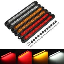 6x 15 LED Tail Lights UTE STOP Brake Indicator Reverse Slim Truck Trailer Light
