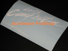 "2x 12"" 30.5cm Spirit of Competition decal sticker vinyl Mitsubishi Ralliart evo"