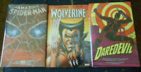 Marvel HC Lot x 3. Wolverine. Dardevil # 4. Amazing Spider Man # 2. All Sealed.