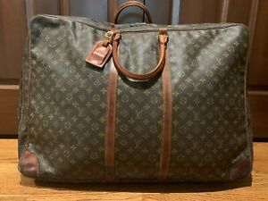 Louis Vuitton Sirius 70 Monogram Canvas Soft Sided Carry-All Carry-On