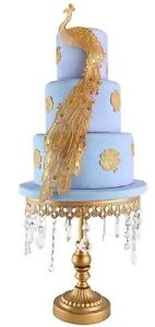 Edible Peacock Bird Ready Made Cake Lace.  ..... All Colours One Low Price,,,,,,