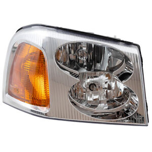 Headlight fits 2002-2009 GMC Envoy / XL  & XUV Passenger Side Headlamp Assembly