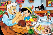 Pinocchio 30x20 Inch Canvas - VERY rare Disney Framed Picture Print Art