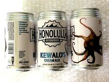 Empty Honolulu Beerworks Kewalo'S Cream Ale Craft Beer 12 oz Can Hawaii