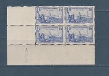 timbre France bloc de 4 coin daté  exposition de New York  num: 458  **