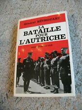 La Bataille pour L´Autriche. Par Général Bethouart