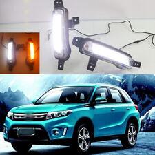 For Suzuki Vitara 2015-2017 Switchback LED Daytime Running Light Turn Signal Kit