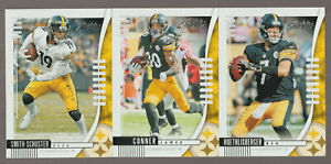 2019 STEELERS 40 Card Lot w/ ABSOLUTE Team Set 22 CURRENT (WEEK 1) PLAYERS