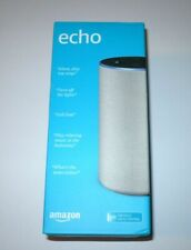 Amazon Echo (2nd Generation) Smart Assistant - Sandstone Fabric BRAND NEW sealed
