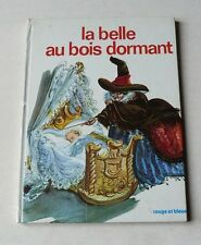 LA BELLE AU BOIS DORMANT   COLLECTION ROUE ET BLEUE   1971