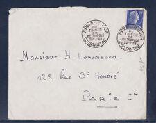 ec58/ Enveloppe  1er jour  20f bleu Muller timbre métropole  Constantine    1958
