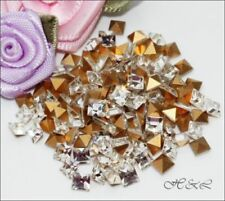 Crystal Square 6 - 6.9 mm Size Jewellery Making Beads