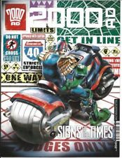 Signed 2000AD Progs