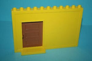 Lego®  Eisenbahn Zubehör 1x Waggon Schiebe Tür in dunkel grau