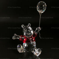 RARE Retired Swarovski Crystal Winnie the Pooh with Balloon 905768 Mint Boxed