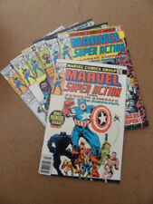Marvel Super Action 1 - 7 . Run ( of 37 ) . Marvel 1977 / 78 .