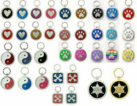 Pet Tag Custom Engraved Pet ID Tags  Dog Tag  Dog Collar Tag  Pet  IDTag Charm