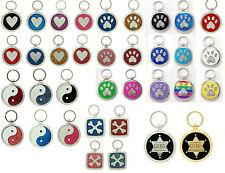 Pet Tag Custom Engraved Pet ID Tags  Dog Tag  Dog Collar Tag  Pet  IDTag Charm