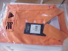 New ADIDAS Clima Lite MCL Tex Solid XL (Orange) Golf Polo Shirt