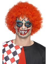 Twisted Clown Make-Up Kit with Tattoo Transfers Halloween Face Paints