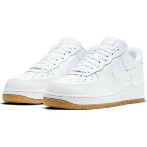 Nike Air Force 1 '07 Low White Gum Bottoms Men's Size 11 DJ2739-100