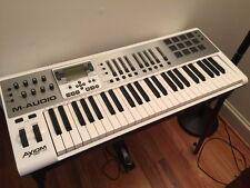M-Audio Axiom Air 49 USB MIDI 49-Key Keyboard and Pad Controller w Power Supply