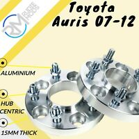 4x108 15mm ALLOY Hubcentric Wheel Spacers Ford Fiesta Mk7 2008 onwards 1 Pair