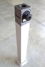 """Hoffman AST44 Swivel Tilt Joint with 4""""X4""""X33"""" Cast Aluminum Pedestal"""