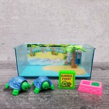 Vintage Kenner Littlest Pet Shop Turtle Habitat Playset