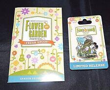 2017 Disney Epcot Flower & Garden Festival  LR Mickey Mouse Epcot Pin