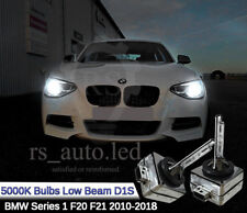 2x D1S HID Xenon White 5000K Bulbs Replacement Headlights Low Beam BMW F20 F21