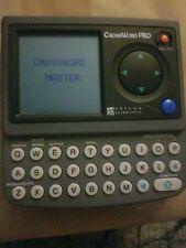 Pre-owned vtg. Oregon Scientific CROSSWORD PRO Handheld Portable Electronic Game