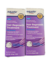 Equate Women's Hair regrowth Treatment Minoxidil 5% Foam 4-Month Supply NIB