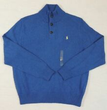 Polo Ralph Lauren 1/2 Half Button Pony Mockneck Pullover Sweater Ski Jumper XL