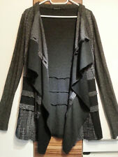 Grauer Cardigan Just Angels never die ANVRDIE Strickjacke Gr. S (-M)